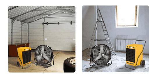 Комплект для эффективной сушки помещения – Генпрокат